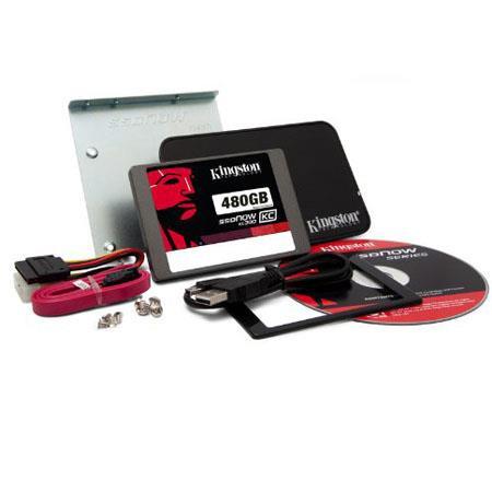 Kingston Technology SSDNow KC SATA GB SSD Upgrade Bundle Kit 53 - 166