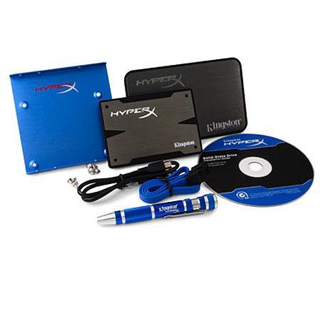 Kingston Technology HyperX K GB Solid State Drive Gen Upgrade Bundle Kit SATA Rev Gbs Transfer Speed 83 - 61