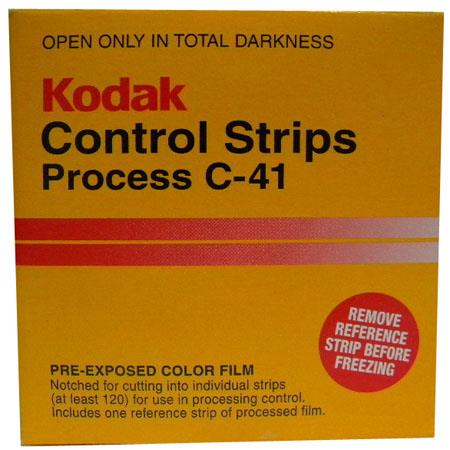 Kodak C Processing Control Strips mmRoll Contains Approximately Exposures 131 - 431