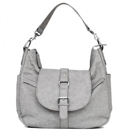 Kelly Moore B Hobo I Shoulder Style Small Camera Bag Removable Basket Heather Grey 83 - 61
