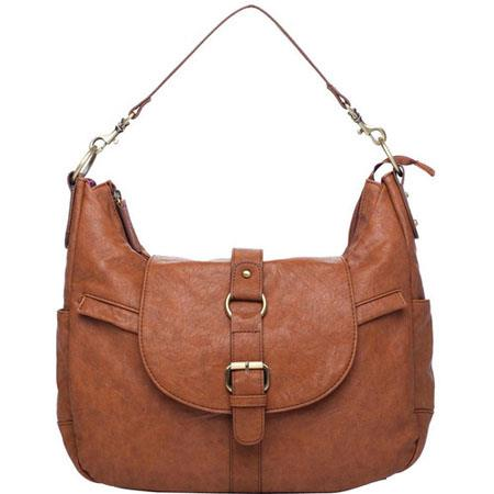Kelly Moore B Hobo I Shoulder Style Small Camera Bag Removable Basket Walnut 88 - 733