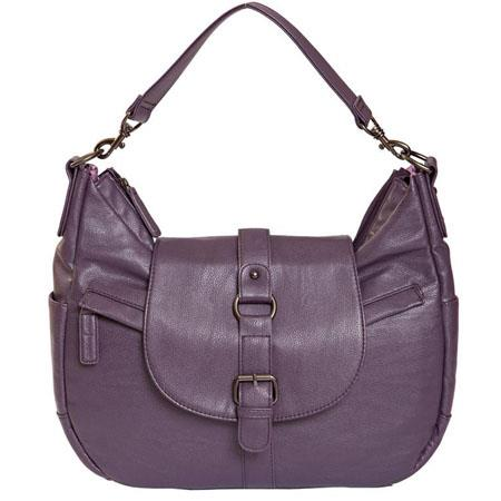Kelly Moore B Hobo I Shoulder Style Small Camera Bag Lavender wo Removable Basket 121 - 439