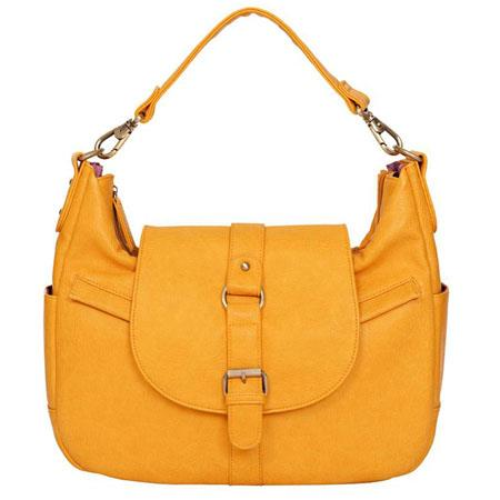Kelly Moore B Hobo I Shoulder Style Small Camera Bag Mustard wo Removable Basket 64 - 779