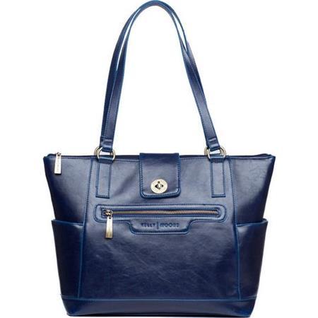 Kelly Moore Esther Shoulder Bag Sapphire Dark Blue 83 - 643