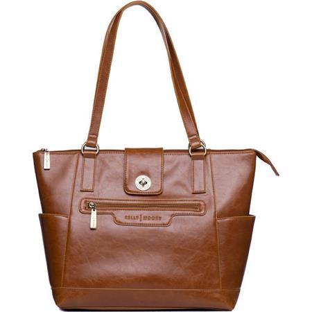 Kelly Moore Esther Shoulder Bag Caramel Brown 83 - 643