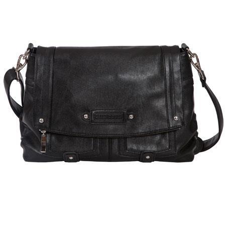 Kelly Moore Songbird Shoulder Bag Raven Black Holds DSLR Netbook More 545 - 33