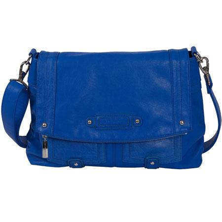 Kelly Moore Songbird Shoulder Bag Cobalt Blue Holds DSLR Netbook More 106 - 608