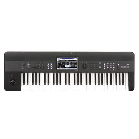 Korg Krome Key Music Workstation Onboard Track Sequencer Built In Digital Effects 79 - 233