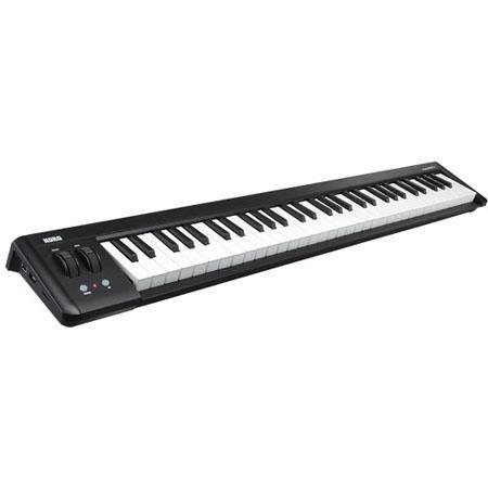 Korg microKEY USB Keyboard Controller Velocity Sensitive Mini Keys Pitch Bend Wheel 128 - 165