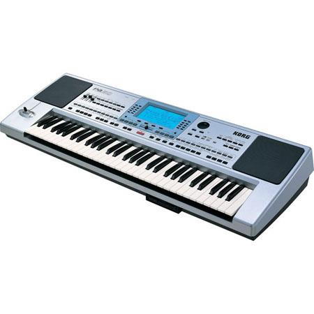 Korg PASD Professional Key Arranger Keyboard LCD Display Tracks High Performance SSD Speakers Dual S 173 - 788