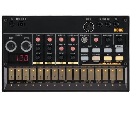 Korg Volca Analog Rhythm Machine Synthesizer step Sequencer Drum Parts MIDI Input Sync IO 311 - 61