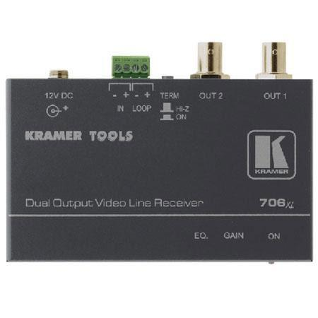 Kramer Electronics XL Composite Video Over Twisted Pair Branching Receiver MHz Bandwidth 114 - 424