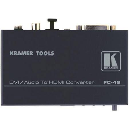 Kramer Electronics FC DVI and Audio to HDMI Format Converter and Audio Embedder 53 - 565
