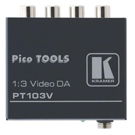 Kramer Electronics PT V Composite Video Distribution Amplifier 214 - 740