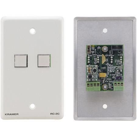 Kramer Electronics RC C Wall Plate RS and IR Controller 268 - 708