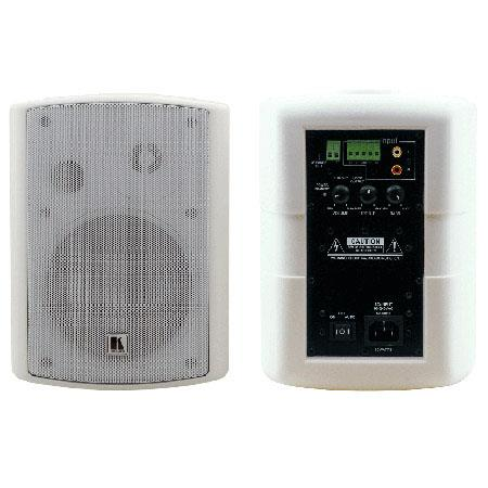 Kramer SPK WAWatts Powered On Wall Speaker System Ohms Impedance dB Sensitivity Hz to kHz Frequency  227 - 702