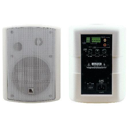 Kramer SPK WAWatts Powered On Wall Speaker System Ohms Impedance dB Sensitivity Hz to kHz Frequency  161 - 351