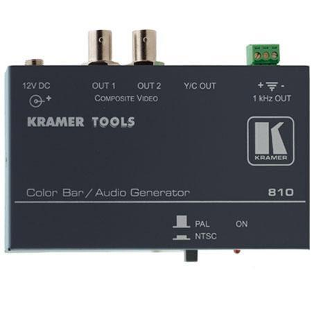 Kramer Composite Video and S Video Color Bar Audio Tone Generator 140 - 475
