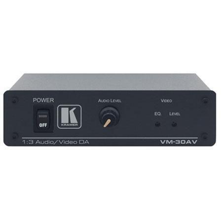 Kramer VM AV Composite Video Stereo Audio Distribution Amplifier Video on RCA Connectors 61 - 262