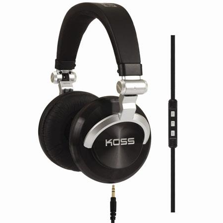 Koss PRODJ Full Size Headphones Hz Frequency Response 214 - 143