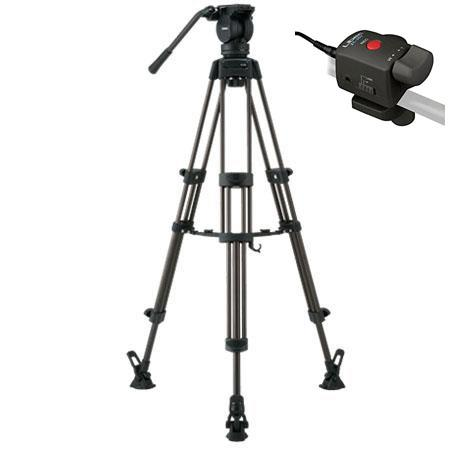 Libec LXM Professional Stage Aluminum Tripod System Mid Level Spreader Zoom Control lbs Load Capacit 39 - 262