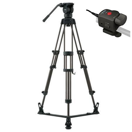 Libec LX Professional Stage Aluminum Tripod System Floor Spreader Zoom Control lbs Load Capacity 39 - 262