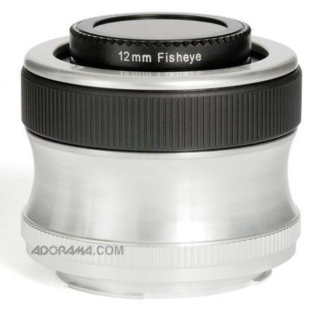 Lensbaby Scout Fisheye Manual Focus Fisheye SLR Camera Lens Sony Alpha 166 - 589