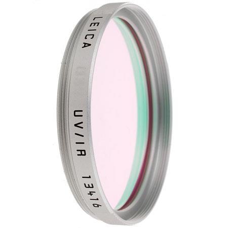 Leica E Digital Ultra Violet UV Infra IR Filter Silver Mount 22 - 739