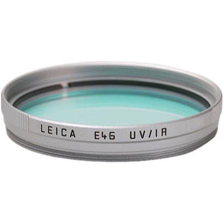 Leica E Digital Ultra Violet UV Infra IR Filter Silver Mount 67 - 413