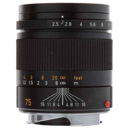 Leica f SUMMARIT M Telephoto Manual Focus Lens M System USA Demo Model Open Box 75 - 96