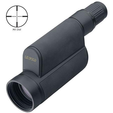 Leupold Golden Ringmm Mark Tactical Straight View Spotting Scope Mil Dot Reticle 82 - 772