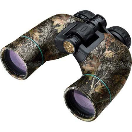 LeupoldBX Rogue Water Proof Porro Prism Binocular Degree Angle of View Mossy Oak Break Up USA 68 - 748