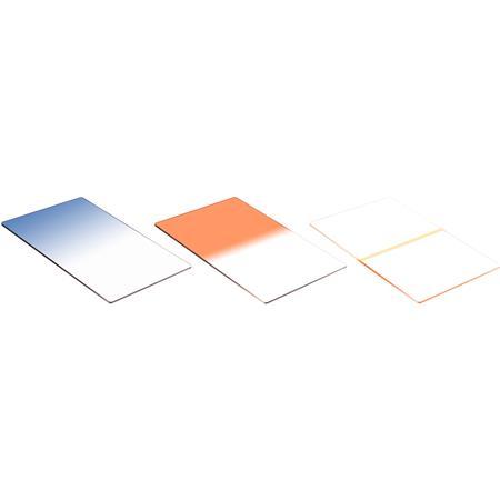 LeeTwilight Resin Filter Set Graduated Hard Edge S Twilight BLue Graduated Mohogany Thin Coral Strip 108 - 761
