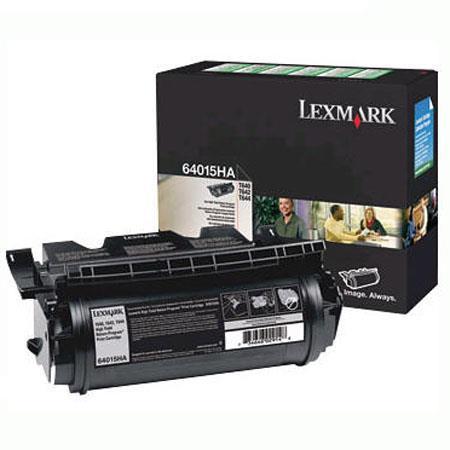 Lexmark Laser HA High Yield Return Program Print Cartridge Pages Yield Capacity 80 - 114