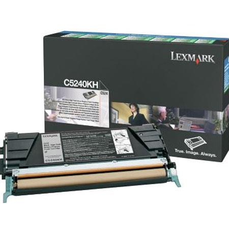 Lexmark CKH High Yield Laser Toner Cartridge Lexmark CC Yield Pages 83 - 524