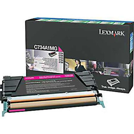 Lexmark CAMG Magenta Toner Cartridge C C X Series Printers Pages Yield 76 - 446