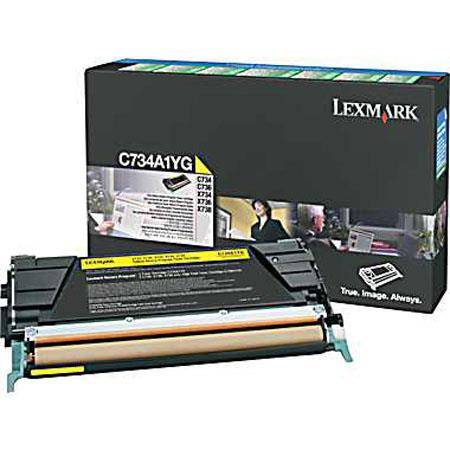Lexmark CAYG Toner Cartridge C C X Series Printers Pages Yield 76 - 446