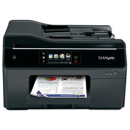Lexmark OfficeEdge Pro Wireless Multi functional Inkjet Printer ppm Blackppm Color Print Speeddpi Pr 350 - 202