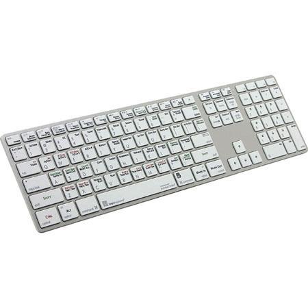 LogicKeyboard Autodesk Smoke Advance Line Apple Ultra Thin Aluminum Keyboard Dual USB Ports 160 - 498
