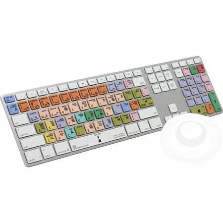 LogicKeyboard Apple Logic Audio Preset Keyboard Apple Logic ProExpress Two USB Ports 254 - 63