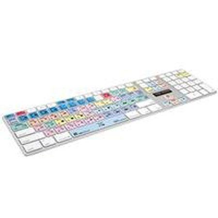 LogicKeyboard LKBU PPRO AM US Adobe Premiere Pro CS Apple Advance Aluminum Keyboard 133 - 267
