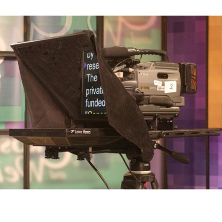 Listec Teleprompters ENT P EZ Entry level VGA Studio Prompter LVC EZPrompt Teleprompting Software Co 41 - 393