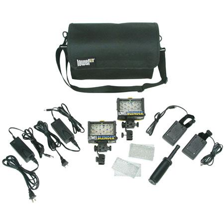 Lowel Blender V Duo ACDC Kit Sony Camcorder Battery Sled 97 - 432