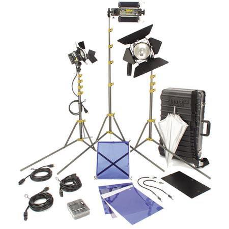 Lowel DV Creator Kit Analog Digital Video Lighting Location Kit TO Hard Case 334 - 76