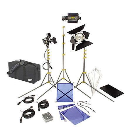 Lowel DV Creator Kit Analog Digital Video Lighting Location Kit LB Soft Case 346 - 73