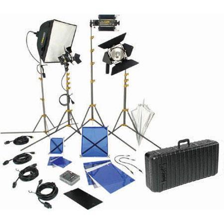 Lowel DV Creator Kit Analog Digital Video Lighting Location Kit TO case 148 - 696
