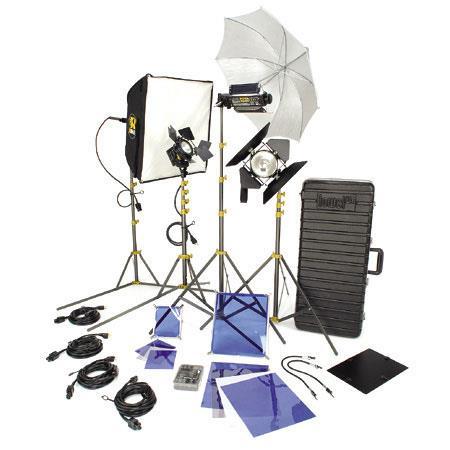 Lowel DV Creator Kit Analog Digital Video Lighting Location Kit TO Z Case 254 - 48