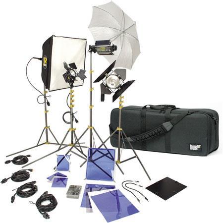 Lowel DV Creator Kit Analog Digital Video Lighting Location Kit LB Soft Case 95 - 776