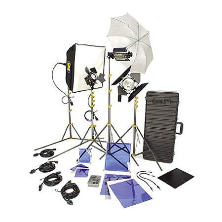 Lowel DV Creator Kit Analog Digital Video Lighting Location Kit TO Case 94 - 712