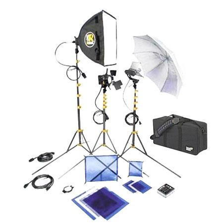 Lowel DV Core Lighting and Accessories Kit Soft Case 136 - 530